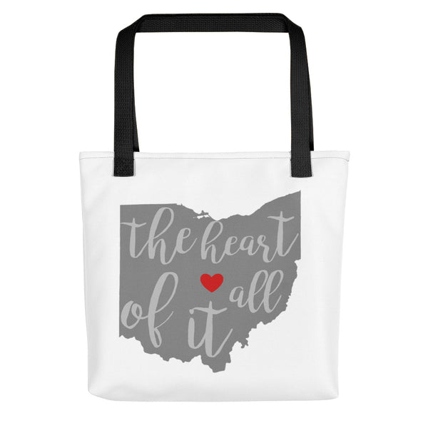The Heart of It All - Tote bag
