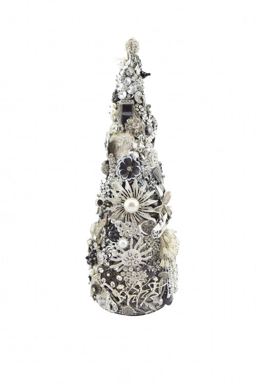 "Beyond The Jewel Box-15"" Tree/Silver"