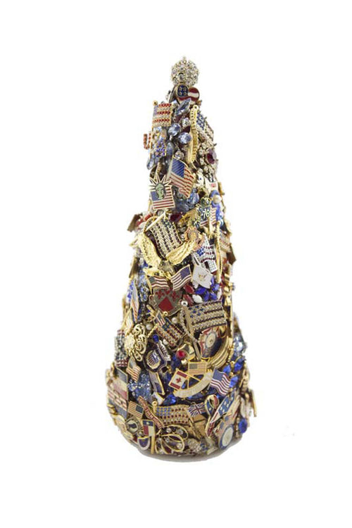 "Beyond The Jewel Box-12"" Tree/Patriotic"