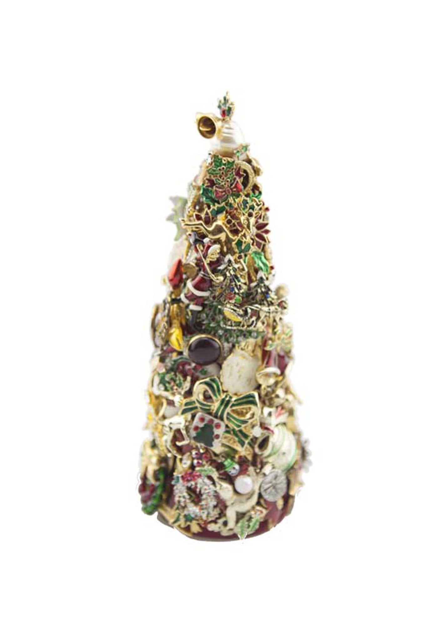 "Beyond The Jewel Box-8"" Tree/Christmas Colors"