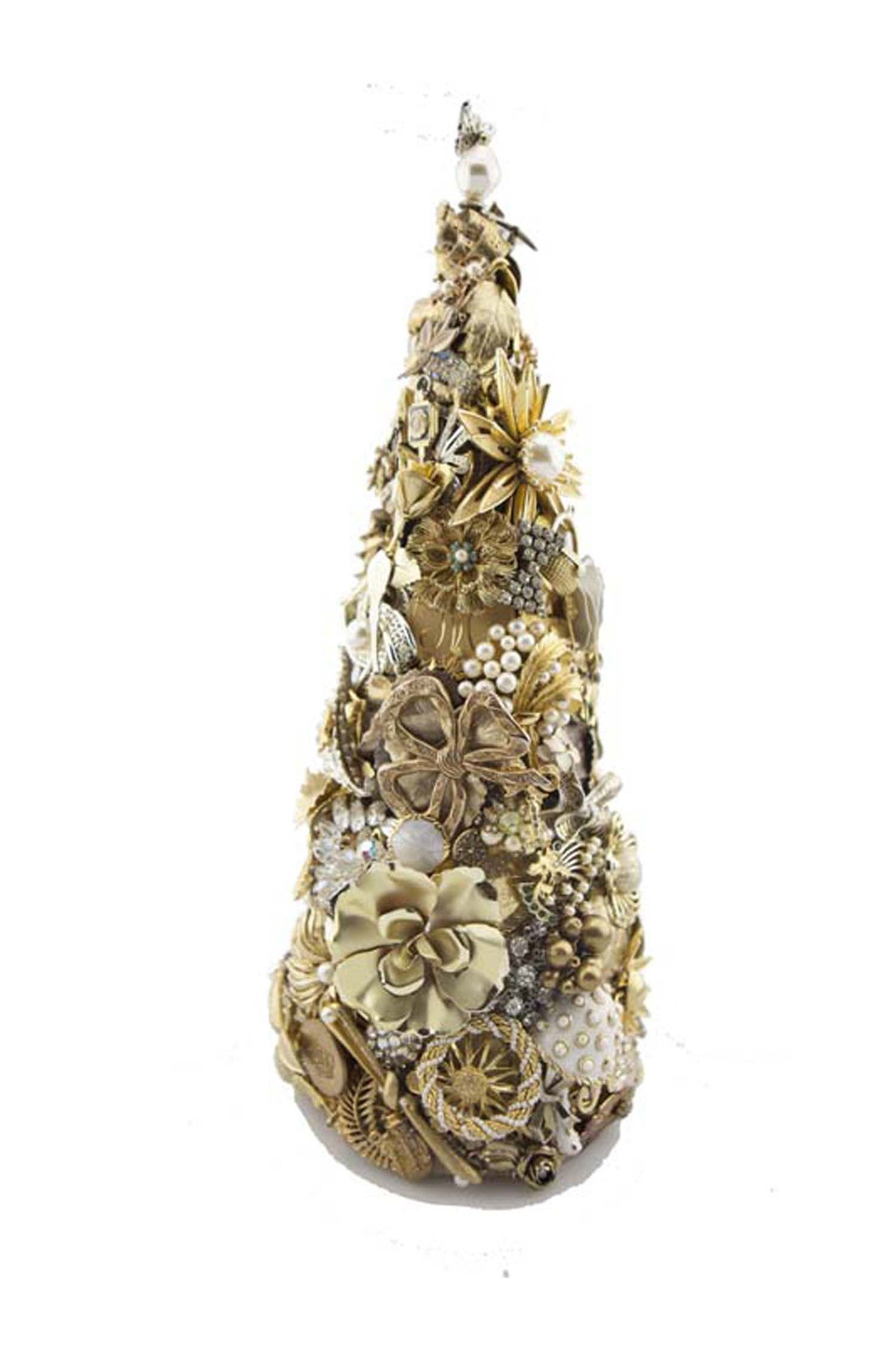 "Beyond The Jewel Box-15"" Tree/Gold"