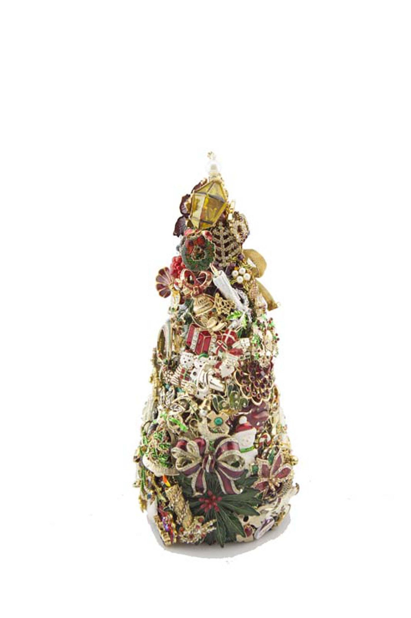"Beyond The Jewel Box-12"" Tree/Christmas Colors"