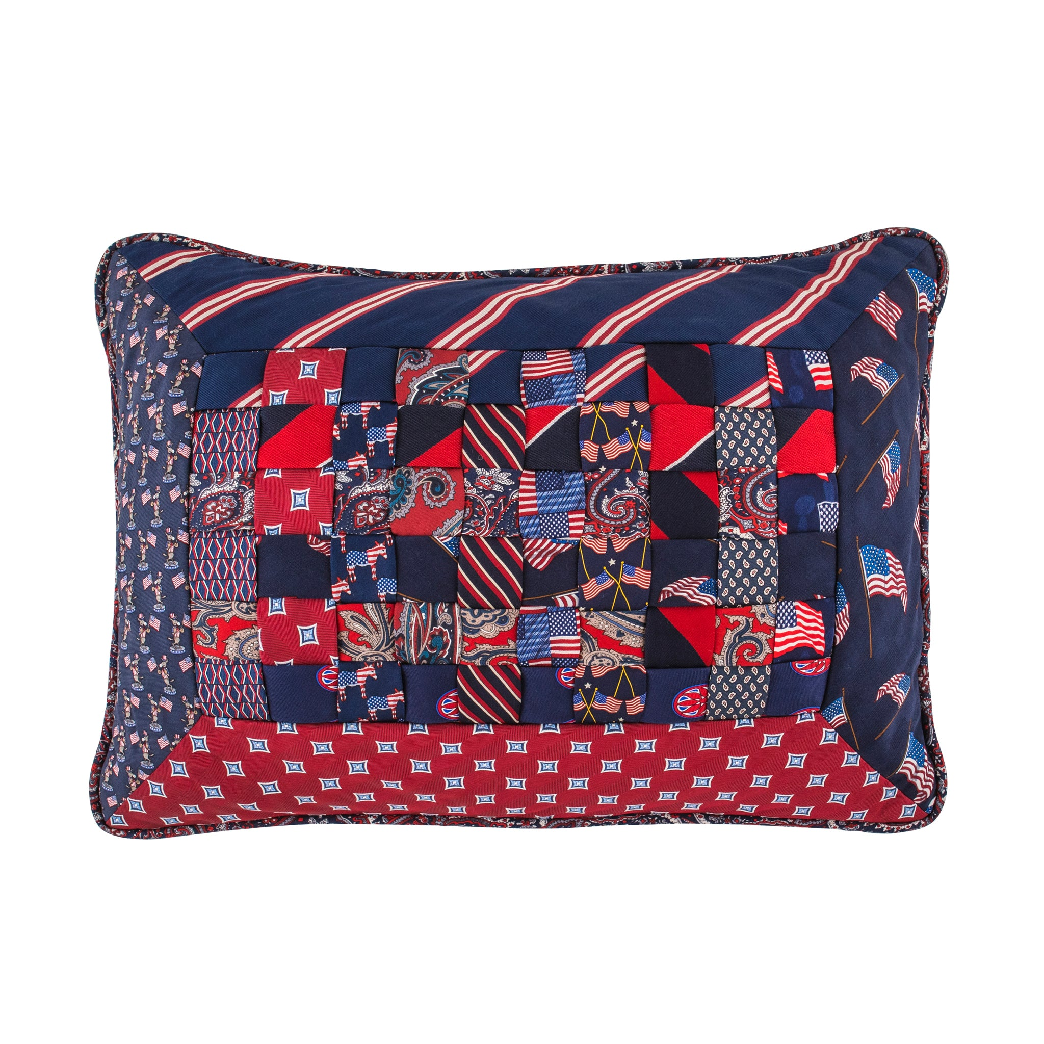 Elegant Interiors-Red, White & Blue/Democrat Donkey
