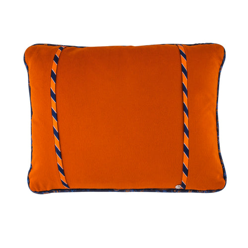 Elegant Interiors Auburn University Blue and Orange