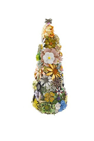 "Beyond The Jewel Box-15""Tree/Enamel Flower Tree"