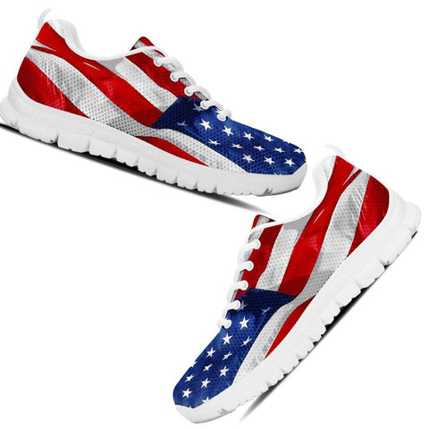 Image of USA Flag Sneakers - Spicy Prints