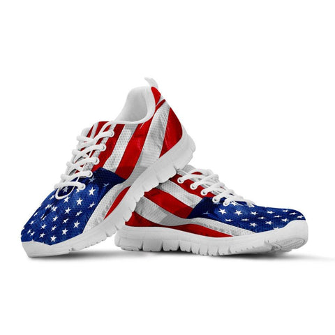 USA Flag Sneakers - Spicy Prints