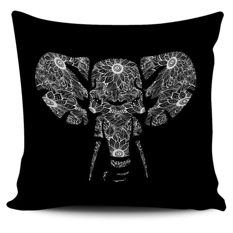"Image of Floral Elephant 18"" Pillowcase - Spicy Prints"