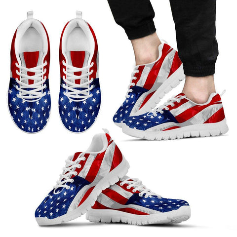 Image of USA Flag Sneakers EXP - Spicy Prints