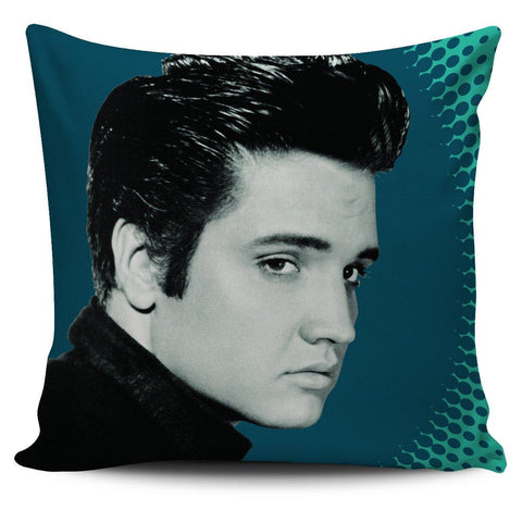 "Image of Classic Elvis 18"" Pillowcase - Spicy Prints"