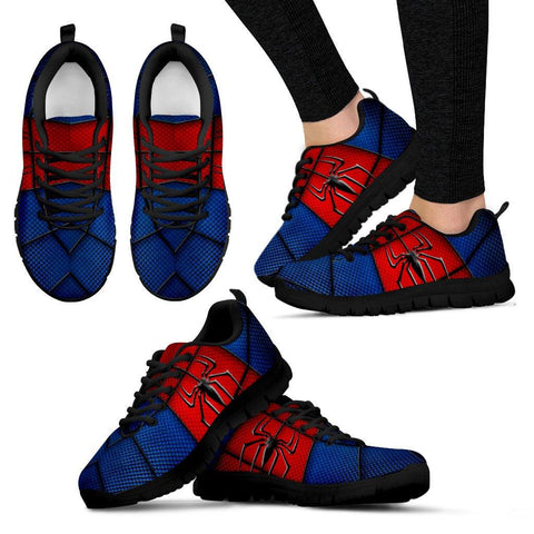 Spider-Man Style Running Shoes - Spicy Prints