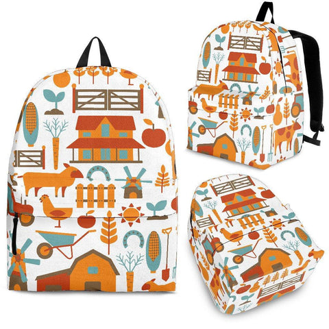 Little Farmers Backpack - Spicy Prints