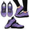 Purple  Design Women's Sneakers