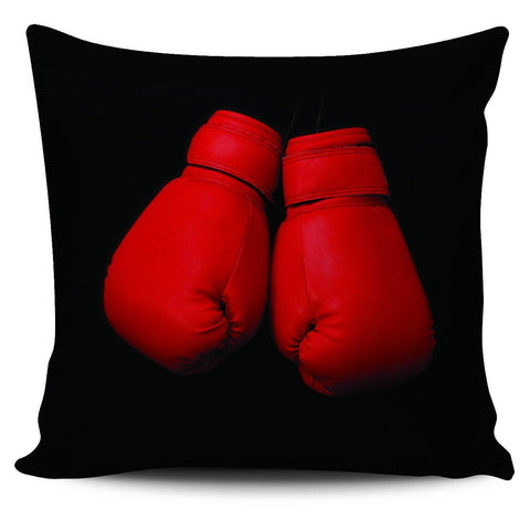 "Boxing Gloves 18"" Pillow Cover - Spicy Prints"