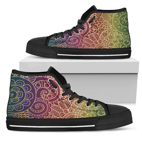 In The Sky Women's High Top Shoes
