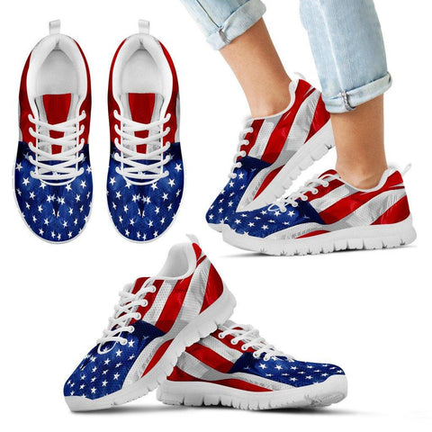 USA Flag Sneakers EXP - Spicy Prints