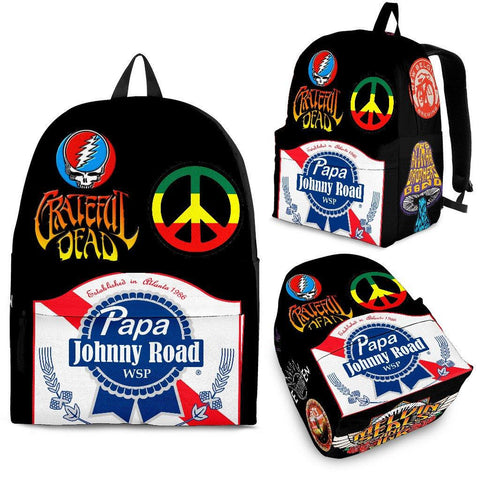Jam Bands Design Backpack - Spicy Prints