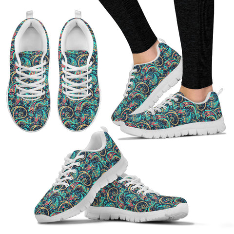 Seamless Floral 2 Sneakers.