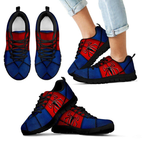 Image of Spider-Man Style Running Shoes - Spicy Prints