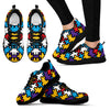Autism Pattern Sneakers