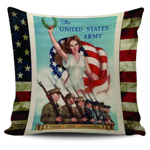"ARMY Vintage 18"" Pillow Covers - Spicy Prints"