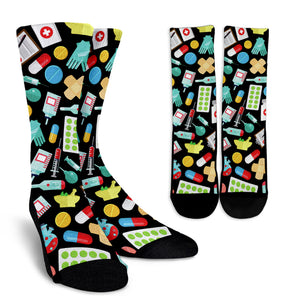 Pharmacy Technician Crew Socks