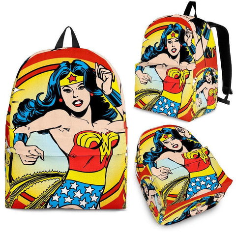 WW Design Backpack - Spicy Prints