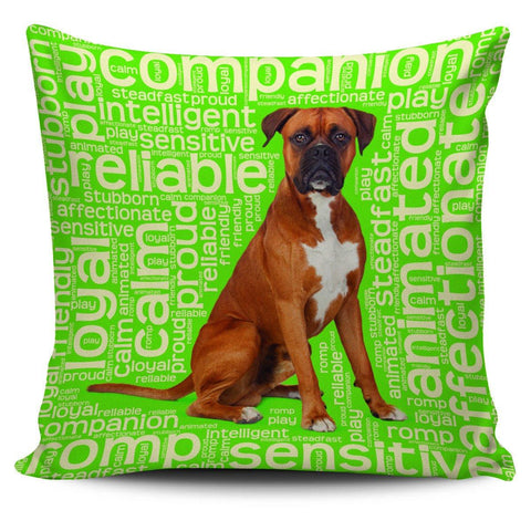 "Image of Boxer Dog 18"" Pillow Covers - Spicy Prints"