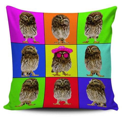 "Oddball Owl 18"" Pillowcase - Spicy Prints"