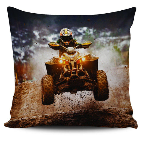 "ATV 18"" Pillow Cover - Spicy Prints"