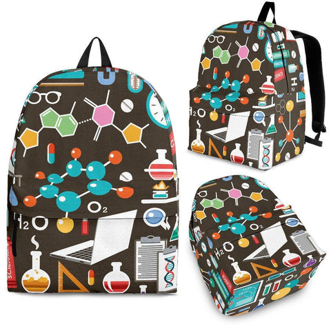 Science Pattern Backpack - Spicy Prints