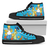Men's Simpsons Canvas High Tops EXP