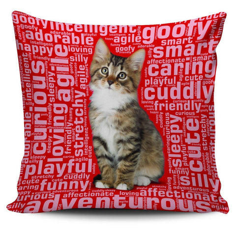 "Image of Cute Kitten 18"" Pillow Covers - Spicy Prints"