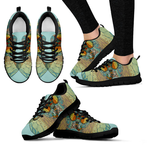 Mandala Elephant Head Sneakers