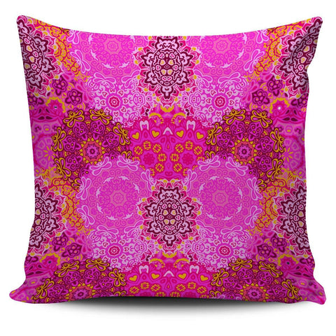 Pink Mandala Pillow Cover - Spicy Prints