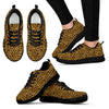 Leopard Print Pattern Women's Sneakers