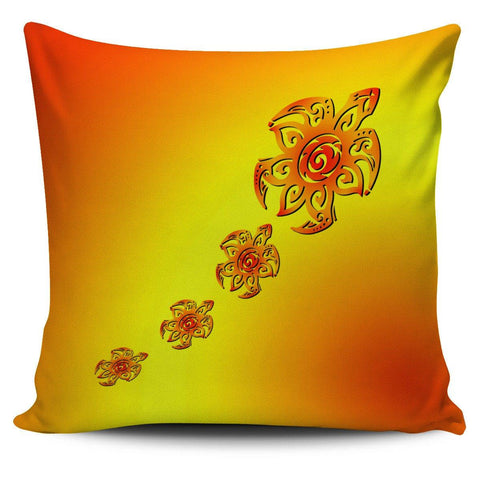 "Image of Tribal Turtles 18"" Pillow Covers - Spicy Prints"
