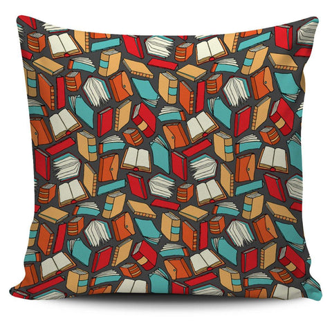 Book Lovers Pillow Cover - Spicy Prints