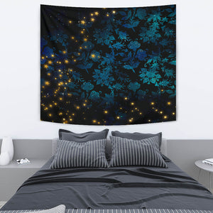 Mystical Stars Wall Tapestry