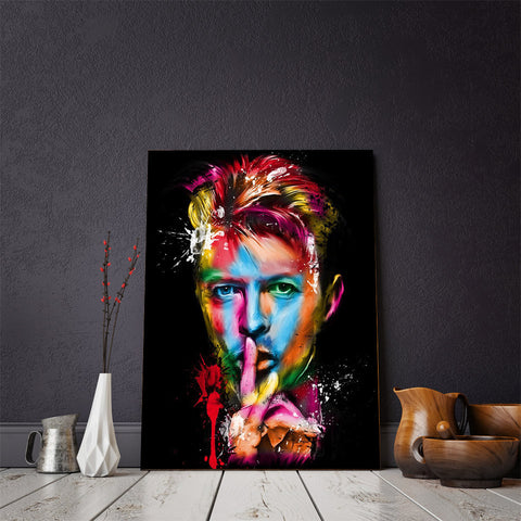 David Bowie Wall Art Canvas - Spicy Prints