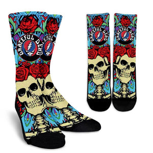 Grateful Dead Socks - Spicy Prints