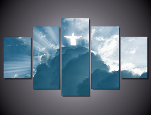 Jesus Is Coming 5-Piece Wall Art Canvas - Spicy Prints