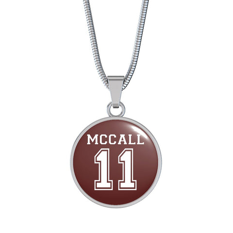 Image of McCall 11 Premium Necklace - Spicy Prints