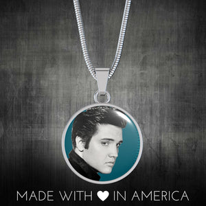 Elvis The King Premium Collectors Necklace - Spicy Prints