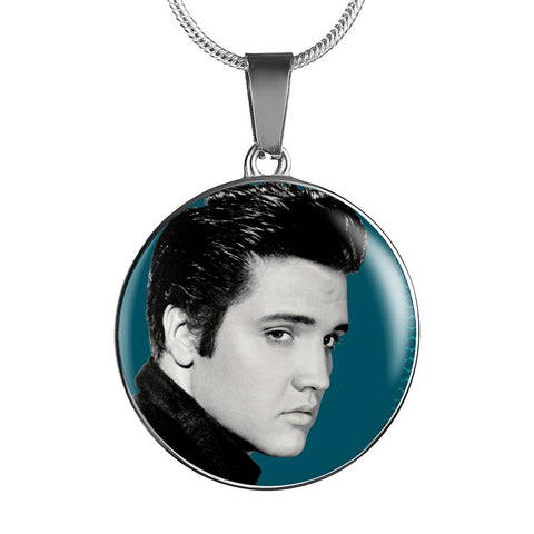 Image of Elvis The King Premium Collectors Necklace - Spicy Prints