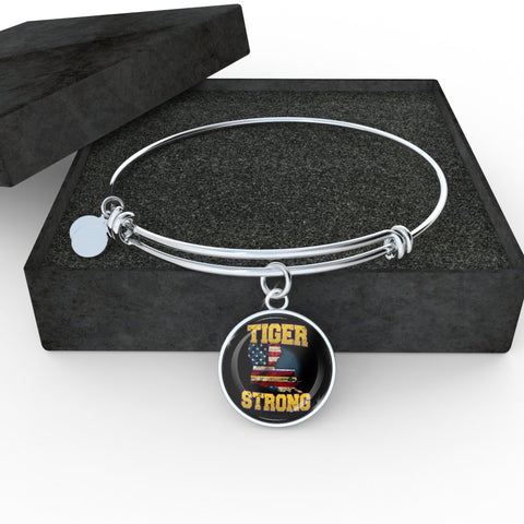Tiger Strong Purple & Gold bangle - Spicy Prints