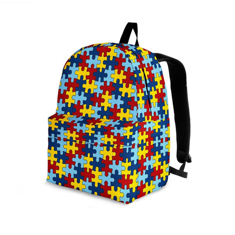 Autism Awareness Backpack - Spicy Prints