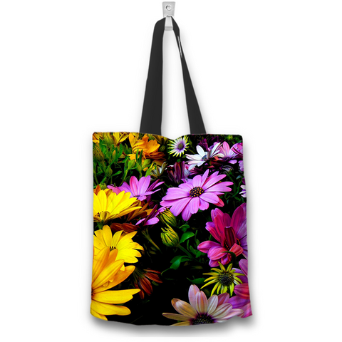 Daisy Tote Bag - Spicy Prints