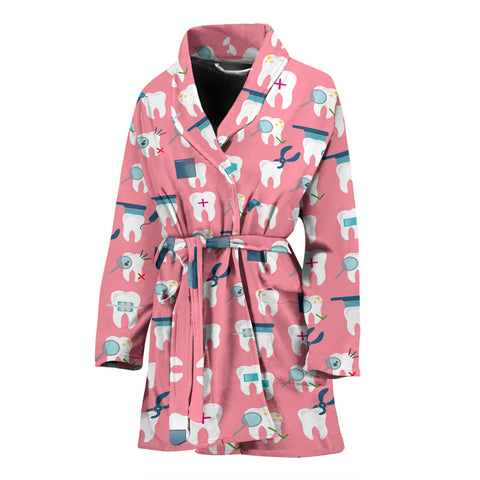 Image of Dental Women's Bath Robe