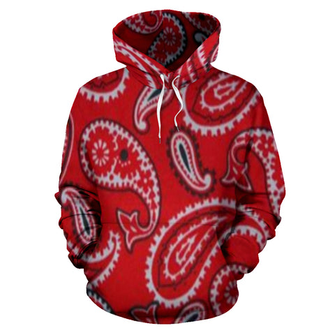 Image of Red Bloods Bandana Hoodie